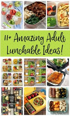 11 Amazing Adult Lunchable Ideas TONS of Adult Lunchable ideas! I love that these can be prepped ahead for easy and yummy weekday lunches. No more boring sandwiches! Lunch Snacks, Healthy Packed Lunches, Make Ahead Lunches, Prepped Lunches, Clean Eating Snacks, Healthy Snacks, Healthy Eating, Healthy Recipes, Easy Healthy Lunch Ideas