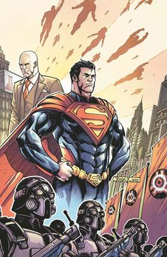 INJUSTICE: GODS AMONG US #9 On sale SEPTEMBER 25 • 40 pg, FC, $3.99 US  Thousands have died around the world in the recent alien invasion. Despite his strength, Superman has begun to feel powerless. So while he and Luthor work on an extreme solution that could make the world safer, Batman's team of heroes have become even more wary of Superman's new methods. A confrontation between the heroes appears inevitable, one that may finally see Batman's wild card played.