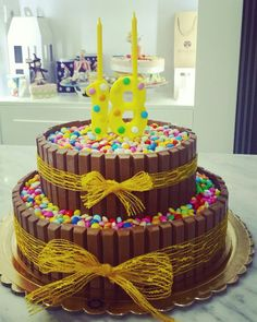 Candies cake