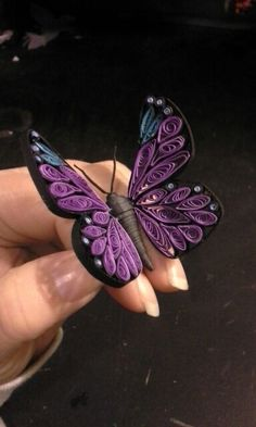 Quilled Butterfly by J T Weiler 2014