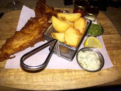 The Perfect Local's Fish and Chips - Fentiman Arms, Fentiman Road, Vauxhall, London