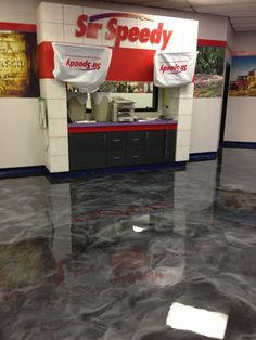 Decorative Epoxy Flooring - Lafayette, Louisiana.  Repin & Click For More Info or Quote @ Your Home / Business.