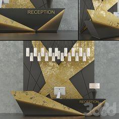 3d модели: Офисная мебель - Reception_8