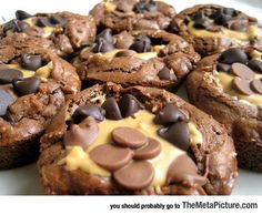Perfect Peanut Butter Cup Brownies