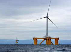 To Expand Offshore Power, Japan Builds Floating Windmills