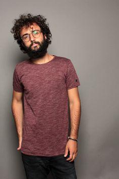 T-shirt in jersey Esprit 075EE2K016-E600