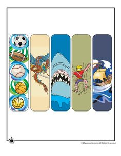 Printable Summer Bookmarks Printable Summer Bookmarks for Boys – Classroom Jr.