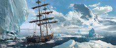 ArtStation - Assassin Creed Rogue, Kobe Sek