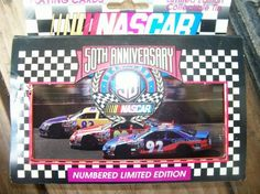 Nascar 50th Anniversary Playing Cards  FREE SHIPPING!!