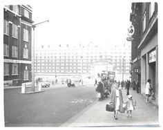 quarry street leeds photos | Quarry Hill Flats from Eastgate, Circa 1969
