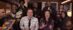Idina Menzel, Jimmy Fallon And The Roots Sing 'Let It Go' With Classroom Instruments (VIDEO)