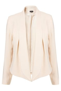 top shop seam front waterfall jacket