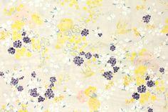 Japanese Fabric Nani Iro EN GARDEN double gauze  by MissMatatabi