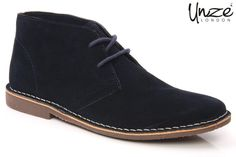 Men's suede leather lace up boots are trendy and stylish men's footwear. They give the flexibility to be worn with a wide range of dress. They are durable, stylish and fashionable and take men's fashion to a new height.