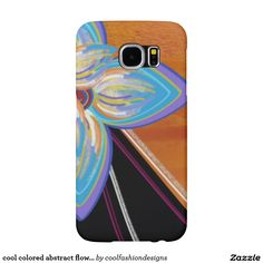 cool colored abstract flower case samsung galaxy s6 cases