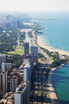 Lake Shore Drive looking North, Chicago