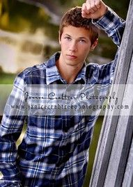 Senior Boy Arm Lean