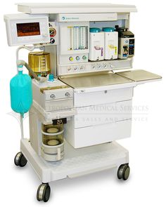 GE Aestiva Anesthesia Machine - Available from Metropolitan Medical.