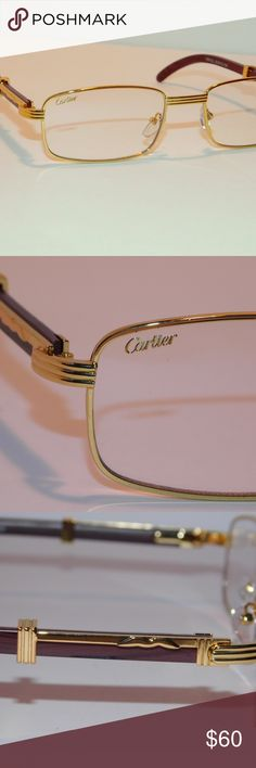f137774a19aa Shop Men s Cartier Gold size OS Glasses at a discounted price at Poshmark.