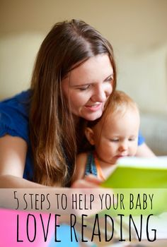 5 Ways To Help Your Baby Love Reading via Tipsaholic #baby #reading #parenting #books