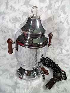 Sold VINTAGE FARBERWARE 9 CUP ELECTRIC COFFEE PERCOLATOR MODEL