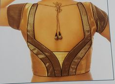 Silk blouse with back design.                                                                                                                                                                                 More