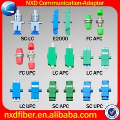 TIPOS DE CONECTORES Y ADAPTADORES DE FIBRA OPTICA (800×800)