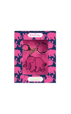 Lilly Pulitzer USB drive key chain in Tusk in Sun. Perfect to clip to my lanyard along with my student ID. Assuming I'll be needing a USB a lot!