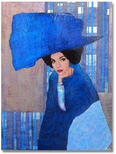 Спрячет печали под шляпою модной,И на руке льдом сверкает алмаз.Художник Richard Burlet.. . .Richard Burlet французский художник, родился в 1957 году. Получил художественное образование сначала В Нице, в школе изящных искусств, а затем в 1977 году он был принят в престижную Ecole Nationale Superieure des Beaux Arts в Париже. Считается, что на его творчество так же оказала влияние венская школа живописи.