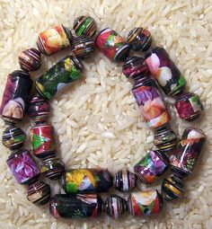 Paper Beads Bella   by PassionForPaperBeads