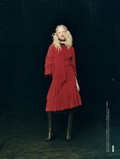 visual optimism; fashion editorials, shows, campaigns & more!: frederikke sofie falbe-hansen by oliver hadlee pearch for dazed fall 2015