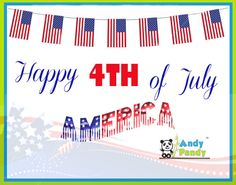 Have a Happy and Safe 4th of July, America!