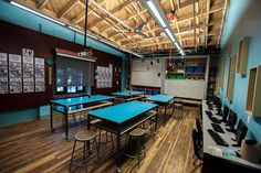 """Adventure Room collaborative space, an ideation-based DreamLab space and DIY ""Maker Space."""