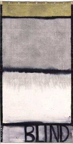 Colin McCahon, Blind II, 1974
