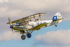Hawker Hart Flying at The Shuttleworth Collection flying day 11th August 2013