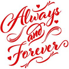 Silhouette Design Store: always and forever