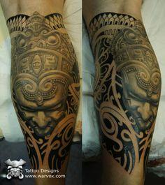 Aztec, Mayan, Inca, PreHispanic Tattoo Designs – Instant Download!