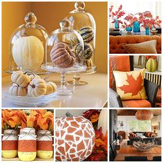 Let your home decor be inspired by fruitful pumpkins this fall.