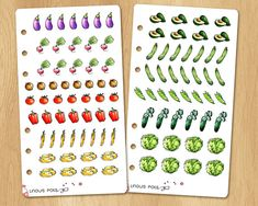 99 Mini Watercolor Stickers to Organize Your Meals and Add Some Taste to Your Receipts Watercolor Stickers, Mini, Pots, Organize, Doodles, Organization, Meals, Holiday Decor, Unique Jewelry