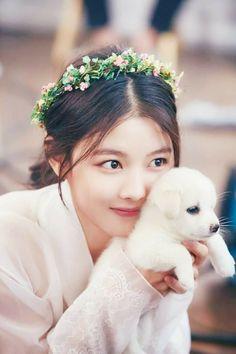 """kim yoo jung """"Moonlight Drawn by Clouds"""" Kim Yoo Jung, Jung So Min, Korean Actresses, Korean Actors, Korean Dramas, Korean Star, Korean Girl, My Shy Boss, Ver Drama"""