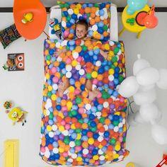 Pościel dziecięca BALL PIT pełna kolorowych kulek - NieMaJakwDomu