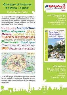 Quartiers et Histoires de Paris...à pied - Site de cdrp75 !