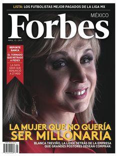La mujer que no quería ser millonaria. http://www.forbes.com.mx/sites/