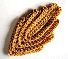 Favourite Leaf - free crochet pattern