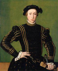 William Scrots Portrait of Maximilian II 1544 Старинный Портрет. Исторический костюм XV-XVIII вв.. Обсуждение на LiveInternet…