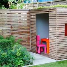 We can make a back garden for our children's activities. Make children comfortable and happy.