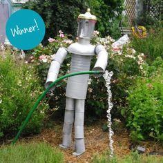 Tin-Can Craft: Reader Winner | July 2013 Winner: Tin Can Garden Helper | AllYou.com