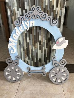 Your looking at a handmade drawing and painted Cinderella Carriage. This picture is 25 in. x 20 in. and 1/2 in. thick made of Styrofoam. Item is painted with acrylics sealer for protection. You can hanger in a wall and decorated your room or party. This item included: (You have to