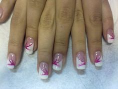 Image detail for -How to Apply Nail Tips with Gel | Best Gel Nails Art Designs 2012