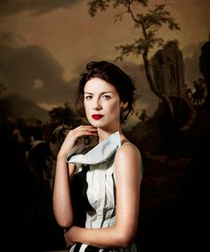 """""""Caitriona Balfe for Departure Magazine"""" (she looks like a painting)"""